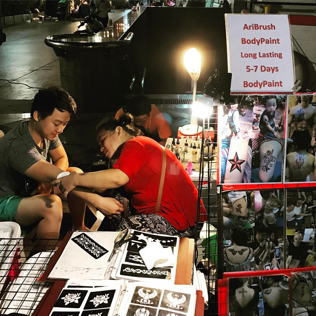 Palladium Night Market Thailand Bangkok
