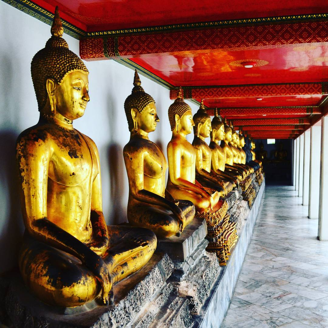 Wat Pho Temple Cheap Bangkok Budget