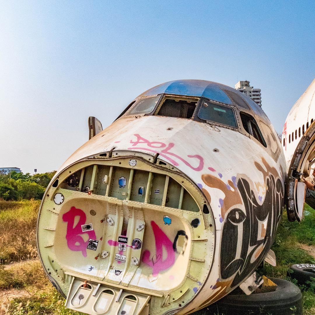 Thailand Airport Graveyard Cheap Bangkok