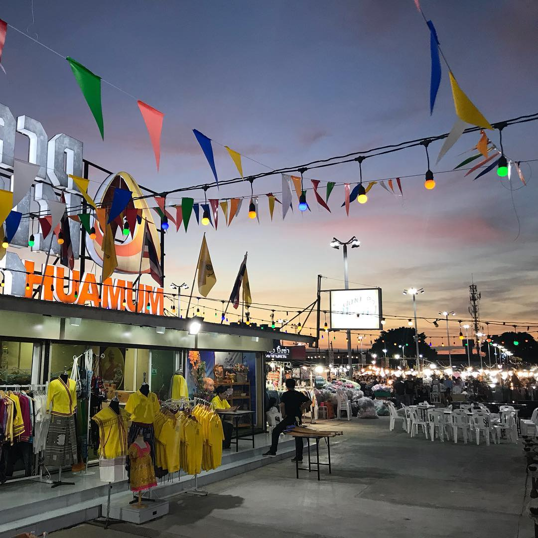 Huamum Night Market Thailand Bangkok Pratunam