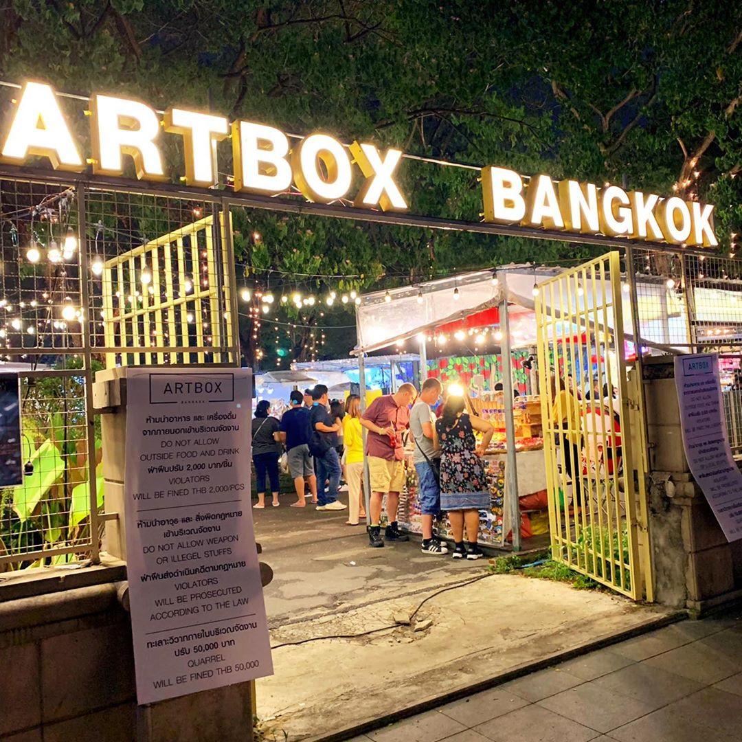 ARTBOX Thailand Night Market Bangkok Pratunam