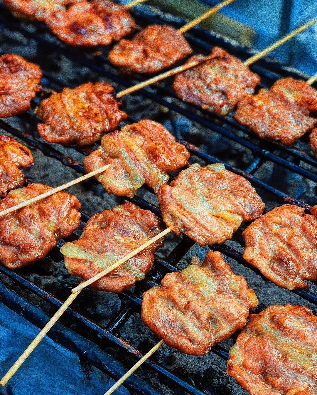 Moo Ping Satay Skewer Meat