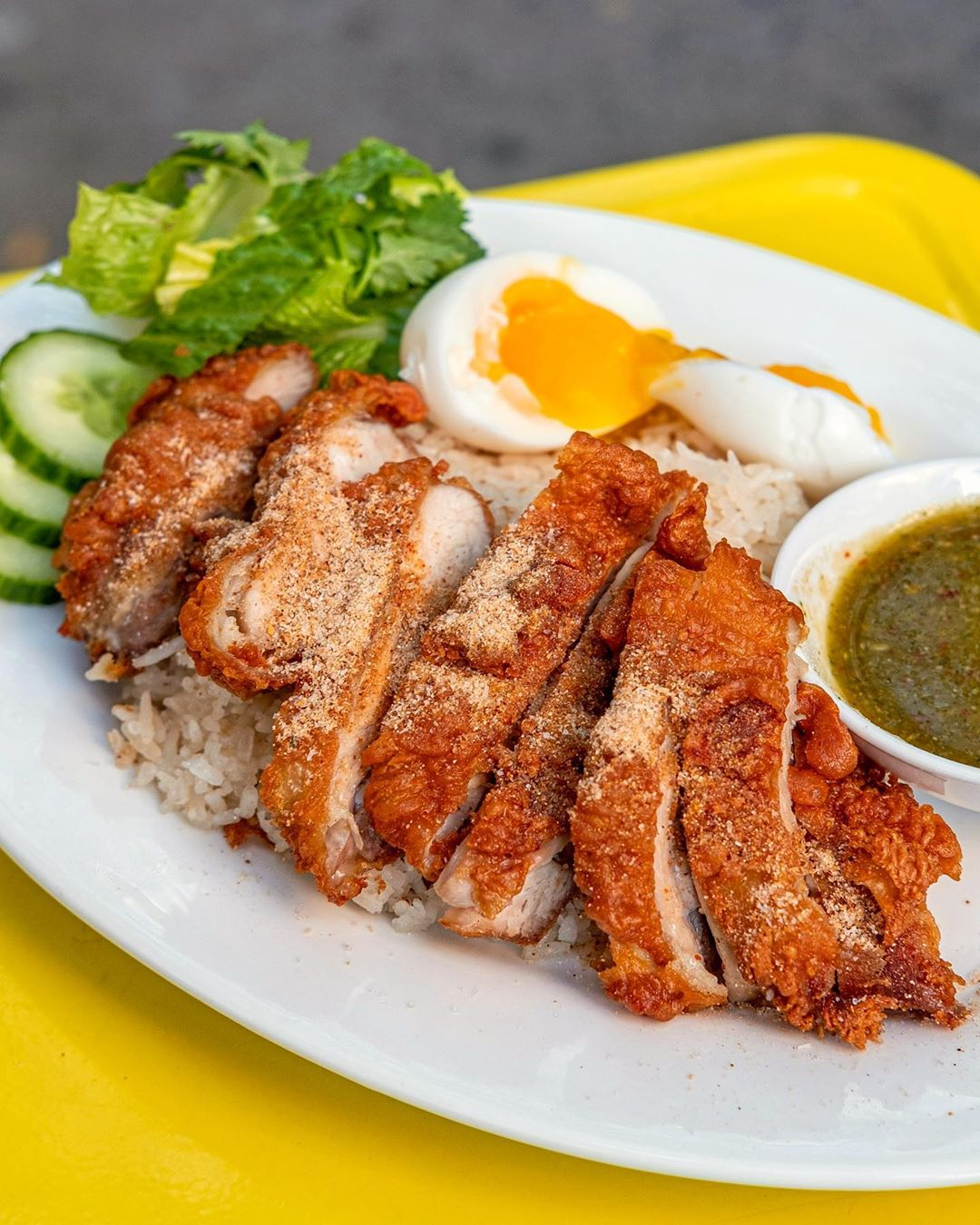 khao man gai chicken rice phuket