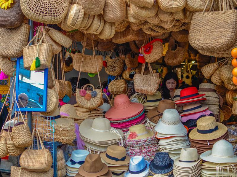 Handmade Bags Weekend Market Bangkok